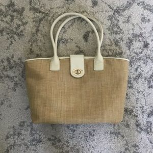 Woven Ann Taylor Purse - Perfect Summer Bag!